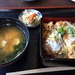 竹園 - カツ丼