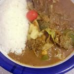 カリーライス専門店エチオピア - ビーフと野菜カレー