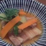 馳走三昧 武原 - セットの豚と菜人参煮