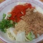 自家製麺 てんか - 汁なし担々麺(小)