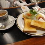 イノダコーヒ 三条支店 - 2015年10月再訪・モーニングセット