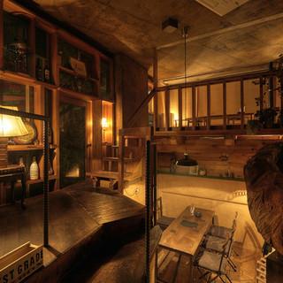 燻製×お酒×秘密基地☆大井町の大人の隠れ家