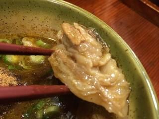 麺舎 ヒゲイヌ - 肉塊 ※2015年10月