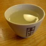そば処増田屋 - 蕎麦湯
