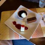 りゅうカフェ - 料理写真:きまぐれケーキプレート