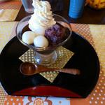 りゅうカフェ - 贅沢コーヒーぜんざい