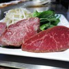 築地鉄板焼 Kurosawa - 料理写真:岩手県産江刺牛もも肉