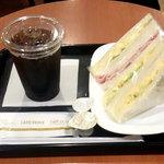 カフェ・ベローチェ - 総計680円