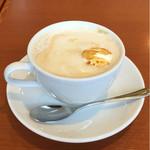 珈琲館 - 黒糖カフェオレ