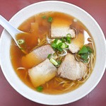 まんぷく亭 - 叉焼麺