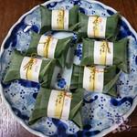 43506653 - 紀州あせ葉寿司 50g 7個 (鯖3個、鯛2個、さんま2個)