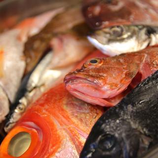 ホントに旨い魚が提供したいから水曜日が定休日。