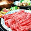 たじ牛 - 料理写真:すき焼きコース