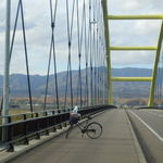 43507351 - この橋渡れば、浦臼まで もう少し