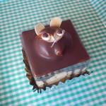 織田菓子舗 - 料理写真:たぬきのケーキ