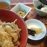 レストラン よし川 - 天丼定食