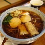 魚要 - 湯波そば 1200円