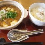 坦々麺専門 はつみ - ライス