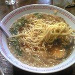 永田屋 - 細麺