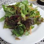ペペローネ - ランチのサラダ