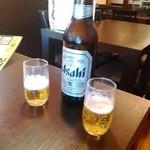 43516709 - 瓶ビール大瓶630円 キリンとアサヒから選べます!
