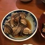 漁師小屋「麦穂」 - 「赤貝の煮付」