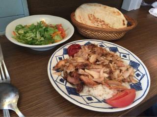 トルコ料理レストラン ヒサル - 【チキンケバブセット】(750円税込)