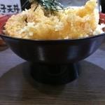 たま天 - 天丼並盛り860円