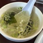 まんぷく - スープ、アップ