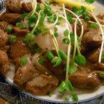 幸楽 - 砂肝炒め