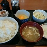 みよしの - 料理写真:朝定食360円