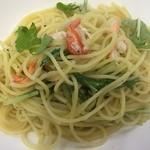 がごめ家 - 【ランチ】カニと水菜の和風パスタ