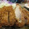 かつ善 - 料理写真:ジャンボの断面