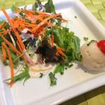 ダニーズレストラン - セットのサラダ