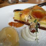 ハックベリー - サツマイモのケーキ ミルフィーユ風550円