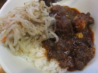 味芳斎 本店 - 牛肉飯