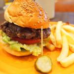 マンチーズ - ハンバーガー 850円