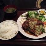 焼肉 牛義 - 焼肉定食