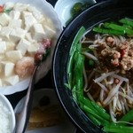 台湾料理 香林坊 - 日替わりBランチ  海鮮豆腐と台湾ラーメン