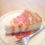 akaimi cafe - 週替わりのチーズケーキ・ラズベリー 2015年10月