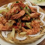 東北人家 - エビの炒め物