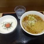 いろり庵きらく - 朝食セット(明太子):380円