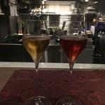 トムクリオーザ - ☆ノンアルコールな白&ロゼも素敵な印象です(●^o^●)☆