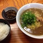 43546353 - 天骨麺+ご飯