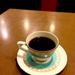 43547555 - 食後はコーヒー。定食食べたら安くなります。                       (=゚ω゚)ノ