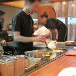 トクトク - 鉄板メニューも美味しそうなんですよね。コレは多分佐賀県産牛のステーキ。
