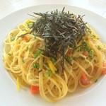 イタリア食堂トンノ - おじゃこのゆず風味スパゲティ