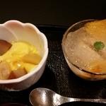 銀座 日本料理 朱雀 - デザート