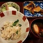 銀座 日本料理 朱雀 - 鯛めし