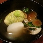 銀座 日本料理 朱雀 - お椀